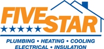 Five Star Plumbing Heating Cooling Electrical Insulation